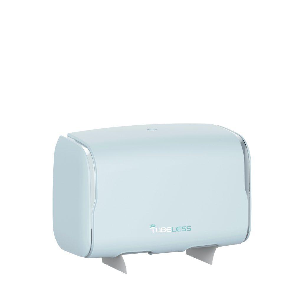 Tubeless Mini Duo Roll Dispenser