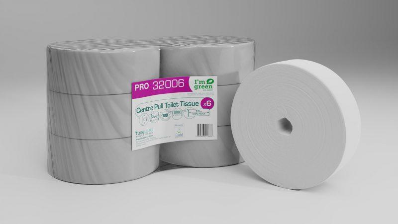 32006 Pro centre pull toilet tissue