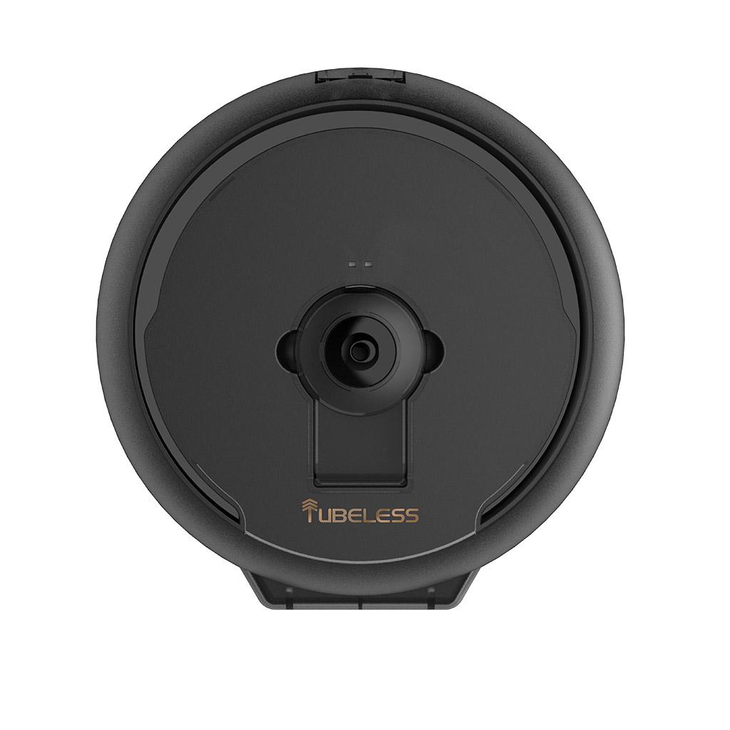tubeless exec black centrepull dispenser front