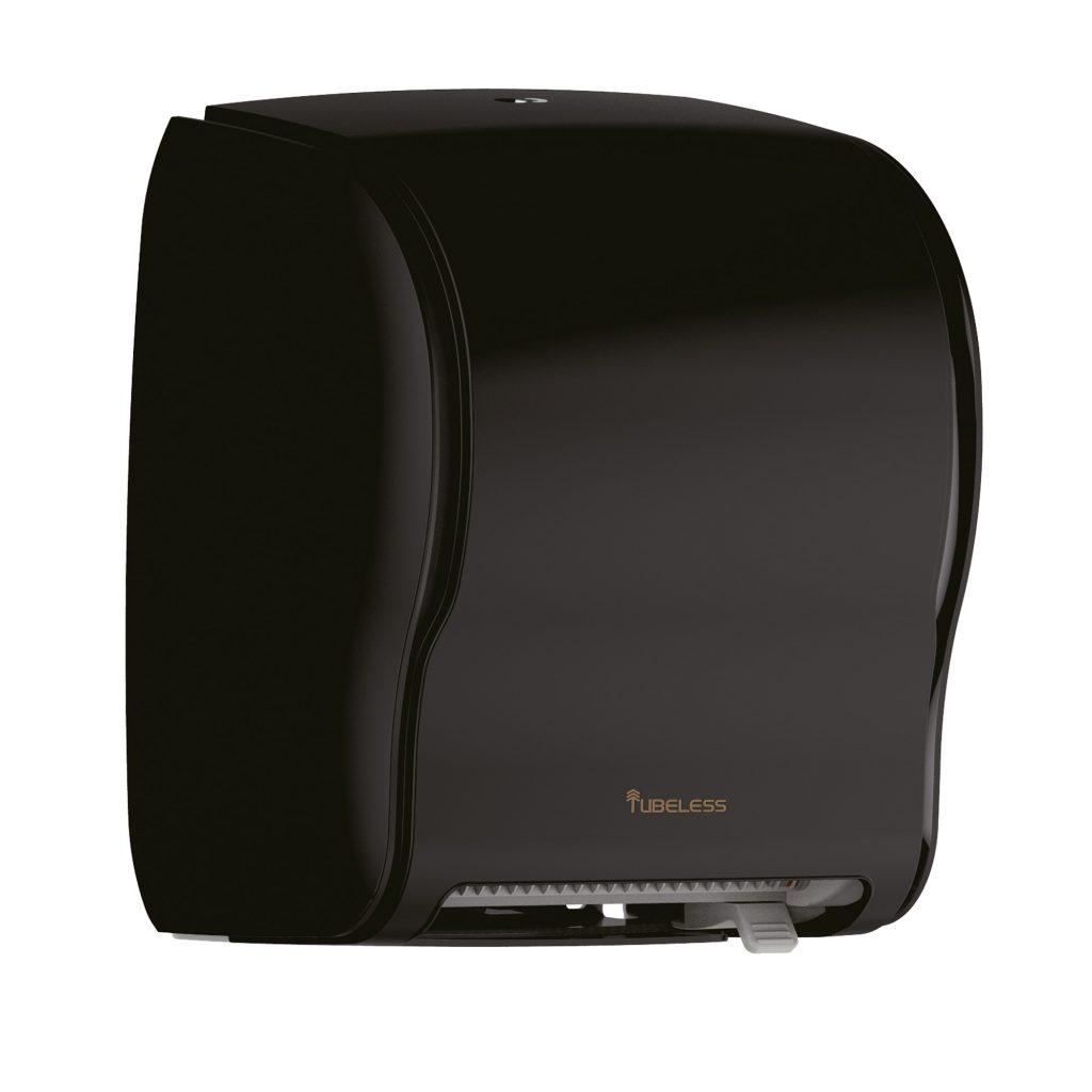 Tubeless Executive Black AutoSensor Roll Dispenser